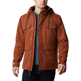 Columbia South Canyon Gefütterte Jacke Herren dark amber